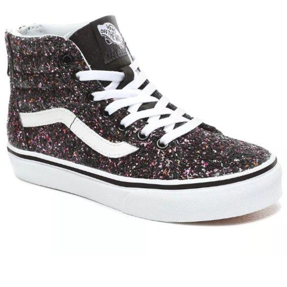 Vans Shoes | Sk8hi Zip Glitter Stars